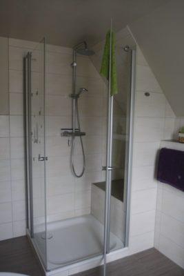 Badezimmer Ferienwohnung-Hausrosengarten