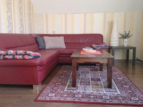 Wohnzimmer ferienwohnung hausrosengarten