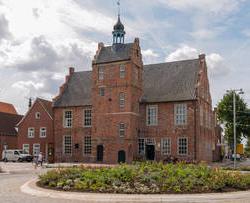 Teemuseum Norden Ostfriesland Ferienwohnung Hausrosengarten